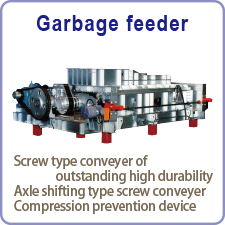 Garbage feeder